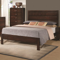 Cameron Bed with Panel Headboard and Footboard