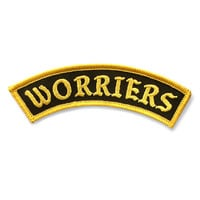 Worriers Patch - Mini Version