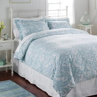 Premium Supima Flannel Comforter Cover, Floral | Free Shipping at L.L.Bean