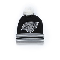 RICH TEAM BEANIE / BLACK