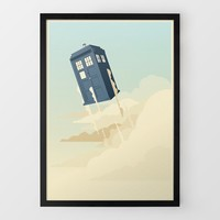 Tardis Print By Danny Haas at Firebox.com