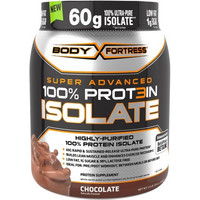Body Fortress Super Advanced 100% Protein Isolate Chocolate Dietary Supplement Powder, 24 oz