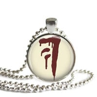 Mark of Cain Necklace Handmade Supernatural Jewelry