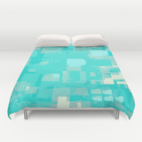 Three Pixels Duvet Cover by T30 Gallery