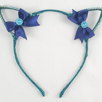 Sailor Neptune, Cat ears, Sailor Moon, Cat ears, Magical Girl, Cat ear headband, Anime, Cosplay, Cat ears headband, Halloween, costume