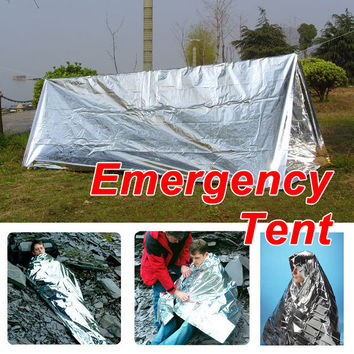 Emergency Tent Tube Survival Camping Shelter FREE Just Pay Shipping