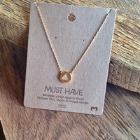 "Press Play ""Must Have"" Necklace"