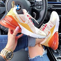 Nike Air Max 270 Fashion Women Air Cushion Shoes Sneakers