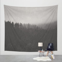 Fade Away Wall Tapestry by Tordis Kayma