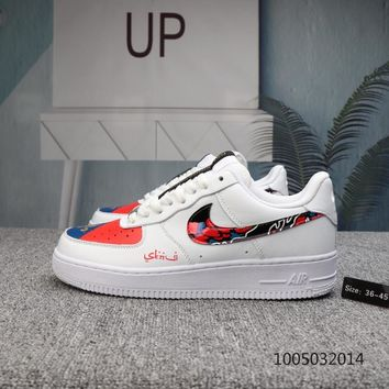 HCXX N542 Nike Air Force 1 af1 Low Casual Shoes  White