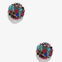 Colorful Rhinestone Clip-Ons | FOREVER 21 - 1025101660