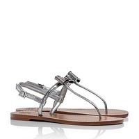 BRYN PAVE BOW FLAT THONG
