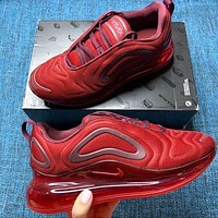 NIKE Air max 720 men's and women's air cushion sneakers Shoes Red