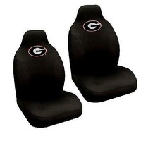 Georgia Bulldogs Set of 2 Embroidered Seat Covers