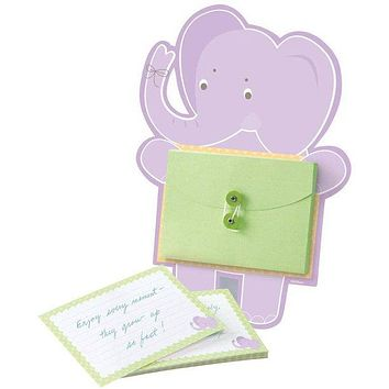 Advice Cards for Mom - Baby Shower Activity Set