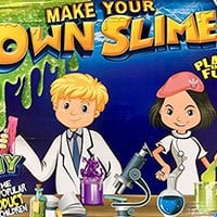 Slime Kit & Slime Lab Jumbo DIY 6 Batches of Slime Includes Ingredients and Supplies for 6 Different Batches of Slime, Glow In The Dark, Neon colors