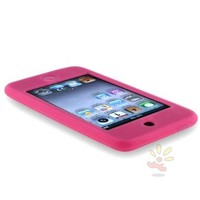 Everydaysource For Apple iPod Gen2/3 Touch Skin Case , Hot Pink