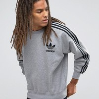 adidas Originals Adicolour Crew Sweatshirt B10716 at asos.com