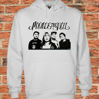 pierce the veil Black white Pullover Sweater Sweatshirt Hoodie