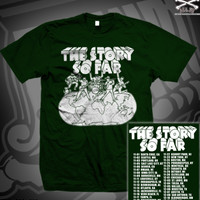 TSSF SILLY DRAWING TOUR TEE ON FOREST GREEN **TOUR RETURN *SALE