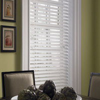 Achim Home Furnishings 1-Inch Wide Window Blinds, 41 by 72-Inch, White