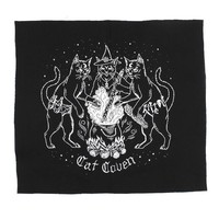 Cat Coven Large Fabric Back Patch