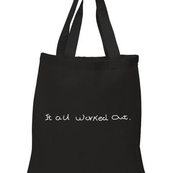"""One Direction """"It All Worked Out / Niall Horan Handwriting"""" 100% Cotton Tote Bag"""