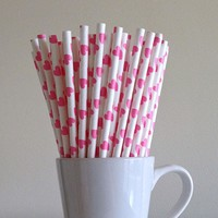 25pcs/Set Colorful Drinking Drink Straws Cocktail Party Accessories Bar Tools Wine Cocktail Juice Straws