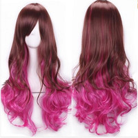 Copy of Copy of Ombre Cosplay Wig Brown Pink