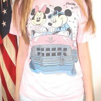 Mickey and Minnie In Love Tee from London Loves LA Boutique