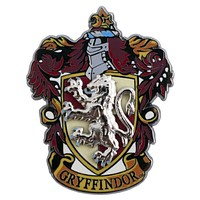 Universal Studios Wizarding Harry Potter Gryffindor Crest Pin on Pin New W Card