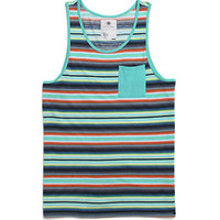 On The Byas Stanley Cray Stripe Tank Top at PacSun.com