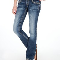 Miss Me Zebra Boot Stretch Jean