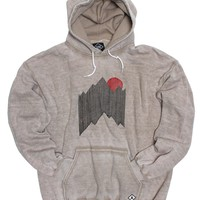 Altru Apparel Mountain Lines Burnout Hoodie (Only Size S & 2XL)