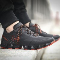 Best Deal Online Under Armour UA Scorpio Men Running Shoes Black Red