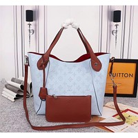 Bags Discount Women Leather Shoulder Bag Satchel Tote Bag Handbag Shopping Leather Tote Crossbody Satchel Shouder Bag
