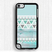 blue wood Ipod touch 4 case,geometric pattern iPod touch 5 case, elegant IPod 5 case,fashion Ipod 4 case,touch 4 case,touch 5 case