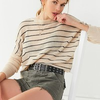 UO Striped Pullover Sweater | Urban Outfitters