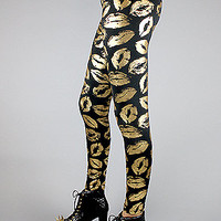 Forever Strung The Kiss of Death Leggings