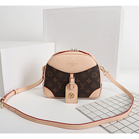 LV Louis Vuitton MONOGRAM CANVAS INCLINED SHOULDER BAG