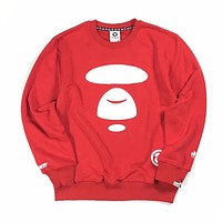 AAPE Woman Men Fashion Top Sweater Pullover