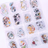 A variety of expression stickers shape notebook stickers student stationery