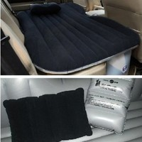 Black Inflatable Car Mattress // Inflatable Car Bed Cushion for Child Parent Boy Girl
