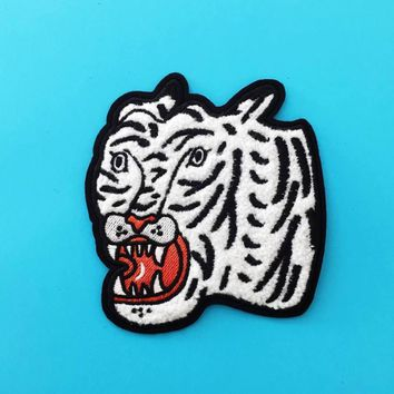 Chenille Tiger Patch