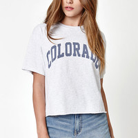 John Galt Colorado Cropped T-Shirt at PacSun.com