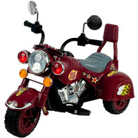 Lil' Rider? Maroon Marauder Motorcycle - Three Wheeler