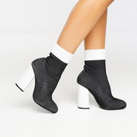 Step Up Bootie - Black