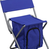Blue Folding Camping Chair