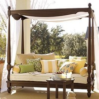 Balinese Daybed   Pottery Barn