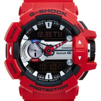 G-Shock Bluetooth Enabled Watch, 55mm x 52mm - Red